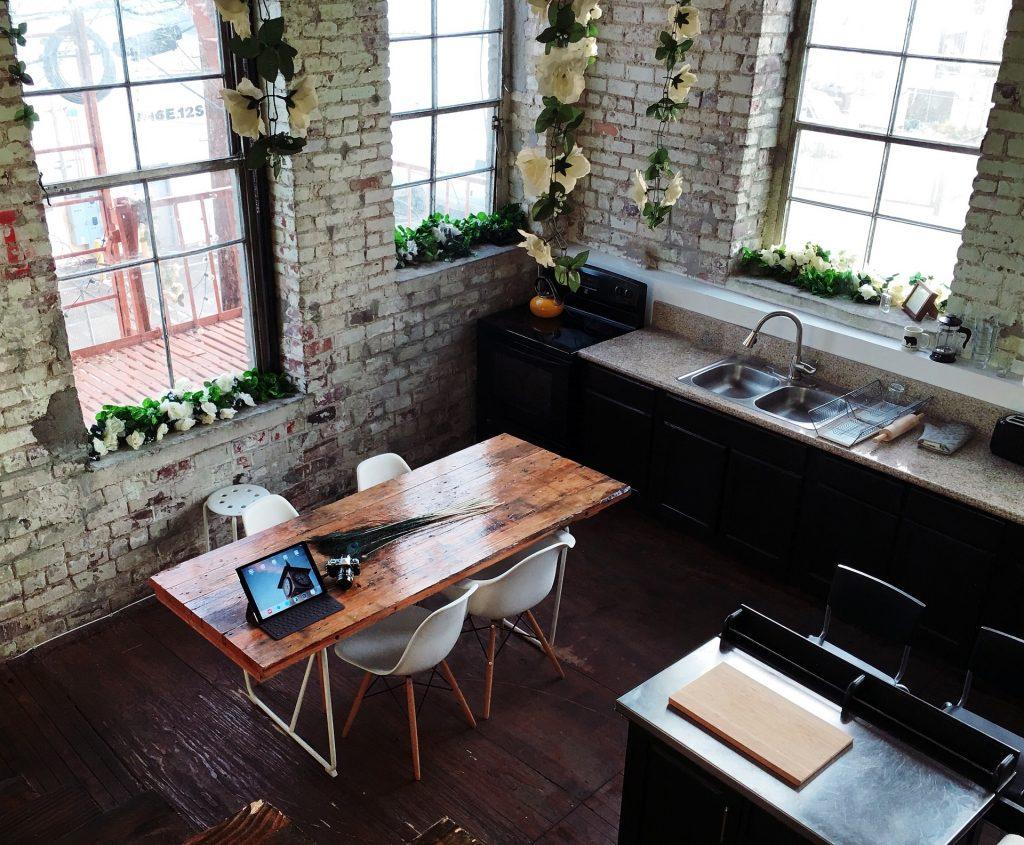 mesa plegable cocina